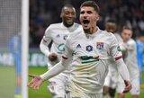 """Prancūzijos taurė: """"Lyon"""" eliminavo """"Marseille"""", PSG iškovojo lengvą bilietą į pusfinalį"""