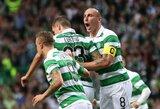 """""""Celtic"""" nuleido ant žemės Gibraltaro klubą ir susitiks su """"Žalgirio"""" skriaudikais"""