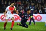 Prancūzijos futbolo grandų dvikovoje – dramatiškos lygiosios