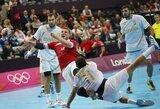 Olimpiniame vyrų rankinio turnyre ir toliau dominuoja favoritai