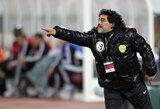 D.Maradona tribūnose užsipuolė jo žmoną įžeidinėjusius sirgalius