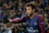 PSG dėl šeimyninių reikalų išleido Neymarą į Braziliją