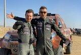 """Tris didžiules problemas per vieną greičio ruožą sprendę A.Juknevičius su D.Vaičiuliu: """"Reikaliukų šiandien pasitaikė tiek, kad visam Dakarui butų užtekę"""""""