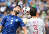 Pasaulio čempionato atranka: Ar Ispanija atsirevanšuos italams už pralaimėjimą aštuntfinalyje?