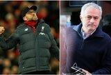 """Palyginimų su J.Mourinho sulaukęs J.Kloppas privertė žurnalistus """"pagūglinti"""" portugalo poziciją"""