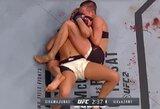 """R.Namajunas pagrindinėje """"UFC Fight Night 80"""" kovoje praliejo varžovės kraują ir šventė pergalę"""