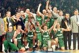 """Istorija: 1999 metų """"Žalgirio"""" ir """"Efes"""" susitikime Stambule buvo nušvilpta šeimininkų komanda, o plojimai - lietuviams"""