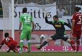 """Užtikrinta """"Bayern"""" pergalė pažymėta pirmu T.Alcantara įvarčiu įmuštu krūtine"""