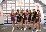 """Moterys pradėjo savo 108 km iššūkį su """"Sonax"""""""
