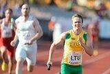 Lietuvos sprinterių komandai nepavyko patekti į Europos jaunimo čempionato finalą, M.Juodeškaitė - 10-a (atnaujinta)