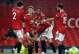 """Įspūdinga: """"Man Utd"""" atseikėjo 9 įvarčius devyniese žaisti likusiems """"Southampton"""" futbolininkams"""