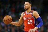 NBA dėl B.Simmonso atvejo neketina keisti taisyklių