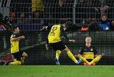 """Norvego magija: 2 devyniolikmečio įvarčiai išplėšė """"Borussia"""" pergalę prieš PSG"""
