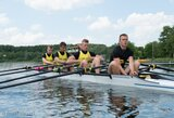 Paguodos plaukimą laimėjusi Lietuvos keturvietė valtis – pasaulio jaunių čempionato ketvirtfinalyje