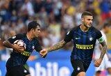 """M.Icardi išplėšė """"Inter"""" klubui pirmąją pergalę """"Serie A"""" lygoje"""