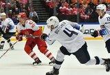 JAV ledo ritulininkai džiaugėsi antra pergale pasaulio čempionate