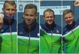 Ketverių metų laukimas baigėsi: baidarininkas A.Seja – pasaulio vicečempionas, H.Žustautui, R.Nekriošiui ir A.Olijnikui – bronza!