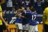 """""""Schalke"""" klubas įveikė čempionus, """"Bayern"""" išsigelbėjo rungtynių pabaigoje"""