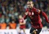 """W.Sneijderis: """"Inter"""" sugriovė mano perėjimą į """"Manchester United"""""""