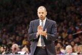 """""""Lakers"""" vairą perima F.Vogelis, trenerių štabe dirbs J.Kiddas"""