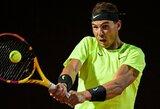 Romoje – dar vieno jauno italo sensacija ir įspūdingas R.Nadalio sugrįžimas