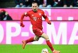 """F.Ribery nori pabaigti karjerą """"Bayern"""" gretose"""