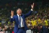 Po ketvirtfinalio serijos Š.Jasikevičius liko nusivylęs jaunimo žaidimu