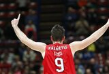 Naujojo trenerio petvarka: M.Kalnietis pateko tarp žaidėjų, galinčių palikti Milaną