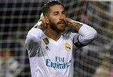 """Raudoną kortelę gavęs S.Ramosas: """"Ne visiems patinka """"Real"""" sėkmė"""""""