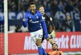 """""""Schalke"""" toliau tęsia įspūdingą nepralaimėtų rungtynių seriją"""