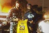"""L.Jamesas dėl įsipareigojimų """"Nike"""" toliau turės 23-ąjį numerį"""