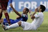 """Urugvajaus rinktinės narys: """"FIFA Suarezą išmetė kaip šunį"""""""