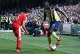 """Du įvarčius pelnęs U.Boltas: """"Noriu parodyti, kad galiu tapti futbolininku"""""""