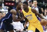 """""""Lakers"""" nutraukė ilgą nesėkmių seriją prieš """"Mavericks"""""""