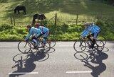 A.Kruopis ir G.Bagdonas nebaigė dviračių lenktynių Belgijoje