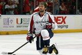 """Visą NHL karjerą """"Capitals"""" praleidęs A.Ovečkinas gali būti iškeistas: kurią komandą galėtų papildyti šis puolėjas?"""