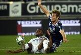 """Pergalę išvykoje iškovoję """"Lyon"""" sugrįžo į Prancūzijos pirmenybių viršūnę"""