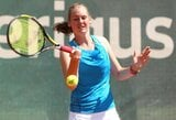 Beveik trijų valandų trilerį laimėjusi P.Bakaitė išvedė Lietuvos moterų teniso rinktinę į pusfinalį