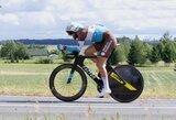 Šalies dviračių plento čempionate – D.Tušlaitės ir G.Bagdono pergalės
