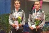 Seserys Riliškytės Prancūzijoje iškovojo bronzos medalius