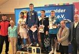 Lietuviai baigė pasirodymus Europos jaunių imtynių čempionate