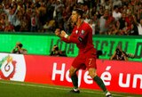 EURO2020: Portugalija sutriuškino Liuksemburgą, C.Ronaldo pelnė meistrišką įvartį