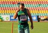 J.Spudį nuo Europos čempionato bronzos skyrė pusmetris