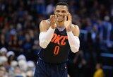 Praėjusią savaitę NBA karaliavo D.DeRozanas ir R.Westbrookas