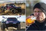 G.Petrus pristatė naująjį automobilį: Dakarą šturmuos su bagiu
