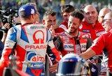 Japonijos GP kvalifikaciją laimėjęs A.Dovizioso bandys sutrukdyti M.Marquezui užsitikrinti čempiono titulą