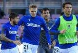 """Pirmoji Ispanijoje: """"Real Sociedad"""" komanda nuo kitos savaitės vėl pradės treniruotis"""