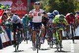 """Septintajame """"Vuelta a Espana"""" etape – puikus G.Bagdono pasirodymas"""