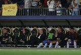 """""""Man Utd"""" strategas O.G.Solskjaeras paaiškino, kodėl Čempionų lygos rungtynėse pakeitė C.Ronaldo ir B.Fernandesą"""