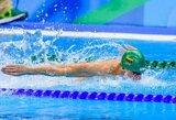 D.Rapšys iškovojo trečiąjį aukso medalį, D.Margevičius pakartojo dešimtmetį išsilaikiusį rekordą